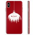 iPhone X / iPhone XS TPU Case - Christmas Ball
