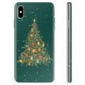 iPhone X / iPhone XS TPU Case - Christmas Tree