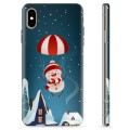 iPhone X / iPhone XS TPU Case - Snowman