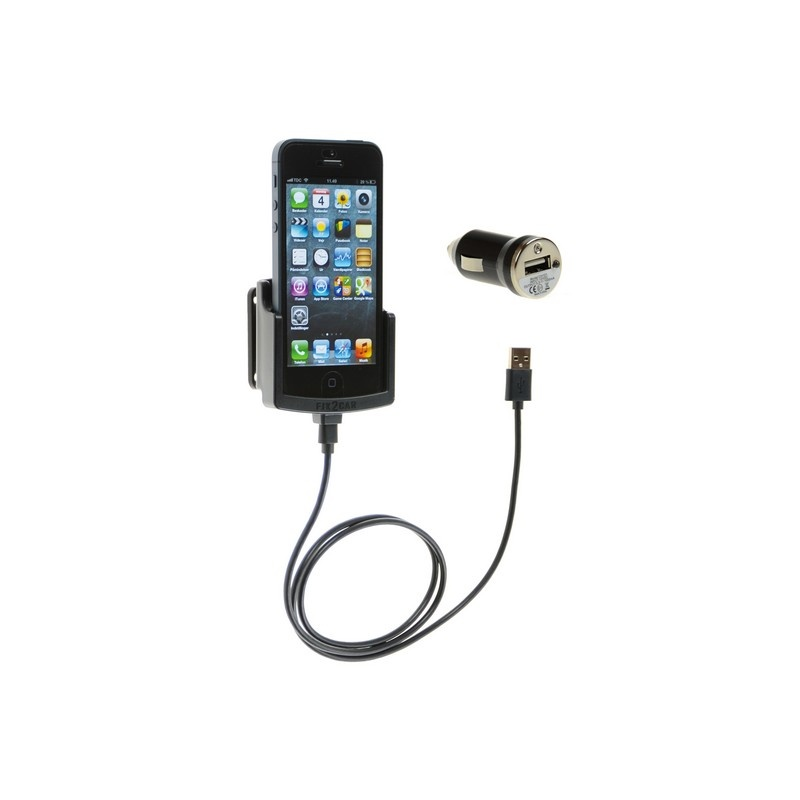 iphone 5s car charger iphone 5 5s fix2car active holder with usb car charger 14756