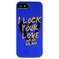 iPhone 5 / 5S / SE Puro Just Cavalli TPU Cover - Blue