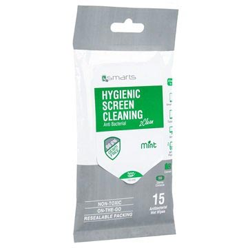 4smarts Screen Cleaner Cleaning Wipes - Mint