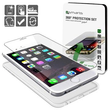 iPhone 6 / 6S 4smarts 360 Protection Set - Transparent