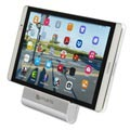 4smarts Aluminium Desktop Holder for Smartphones and Tablets