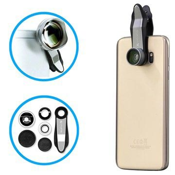 4smarts Premium Lens Kit for Smartphones and Tablets