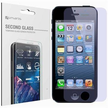 iPhone 5 / 5S / SE 4smarts Second Glass Screen Protector