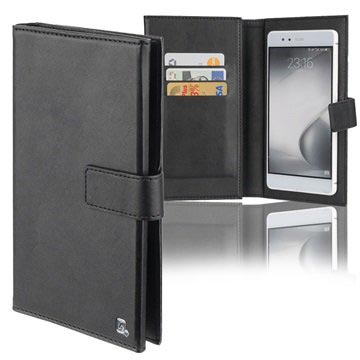 "4smarts UltiMAG Wallstreet Universal Wallet Case - 5.8"" - Black"