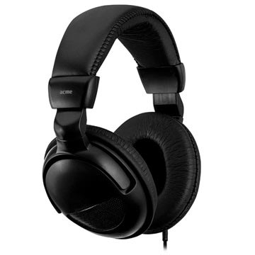 Acme CD850 Stereo Headphones with Microphone - Black