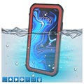 Active Series IP68 iPhone XR Waterproof Case - Red / Black
