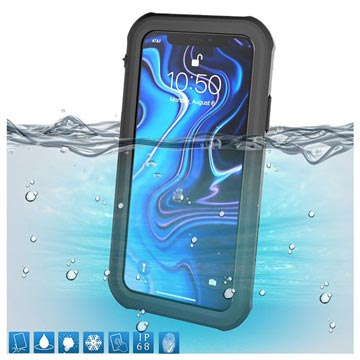 Active Series IP68 iPhone XS Max Waterproof Case - Black