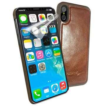 iPhone X / iPhone XS Alston Craig Magnetic Leather Case