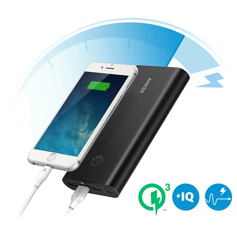 Anker PowerCore+ 26800mAh Quick Charge 3.0 Power Bank