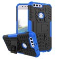 Huawei Honor 8 Anti-Slip Hybrid Case - Blue / Black