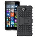 Microsoft Lumia 650 Anti-Slip Hybrid Case - Black