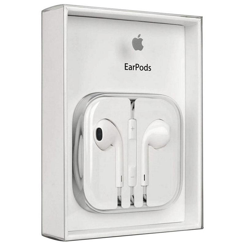 Apple MNHF2ZM/A EarPods Stereo Headset - iPhone, iPad, iPod - White