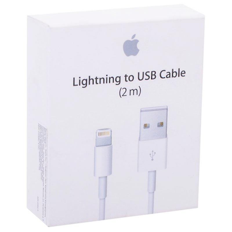 Apple MD819ZM/A Lightning / USB Cable - iPhone, iPad, iPod - White
