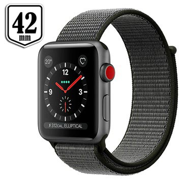 Apple Watch Series 3 LTE MQKR2ZD/A - Aluminium, Sport Loop, 42mm, 16GB