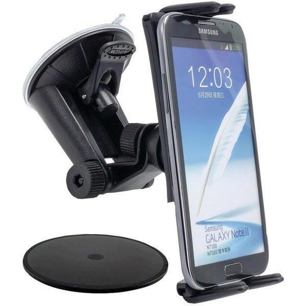 Arkon SM617 Slim-Grip Ultra Robust Car Holder - Windshield Car Mount