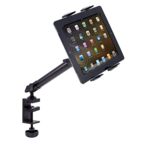 Arkon TAB804 Heavy-Duty Universal Tablet Stand - C-Clamp Mount