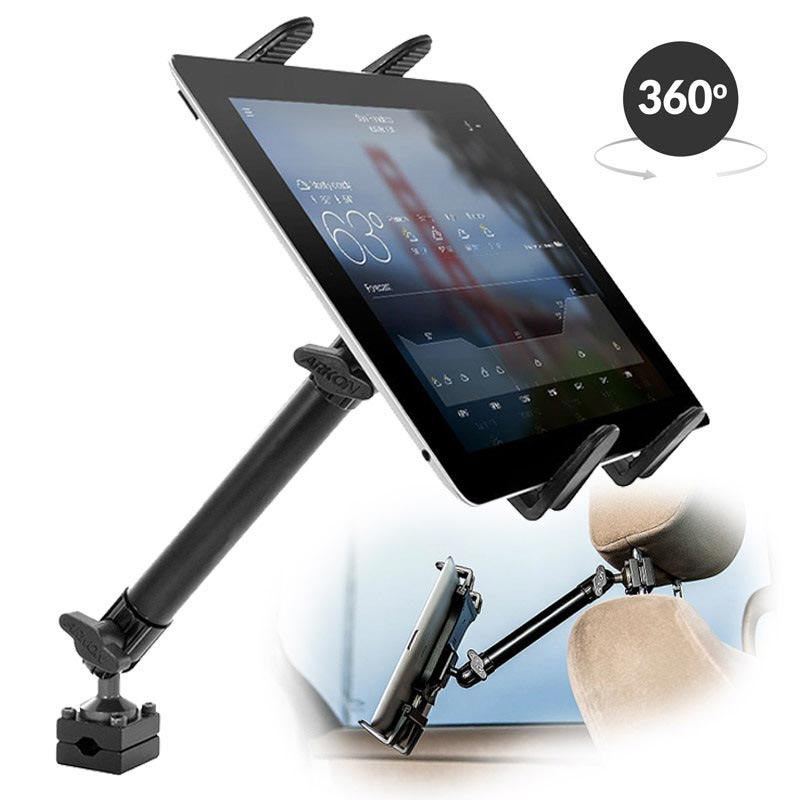 "Arkon TABHM5 Heavy Duty Tablet Headrest Car Holder 8.9""-12.9"""
