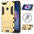Huawei P Smart Armor Hybrid Cover with Kickstand - Gold