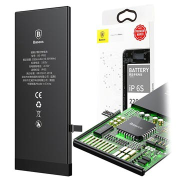 Baseus BS-IP6S High Capacity iPhone 6S Battery - 2200mAh