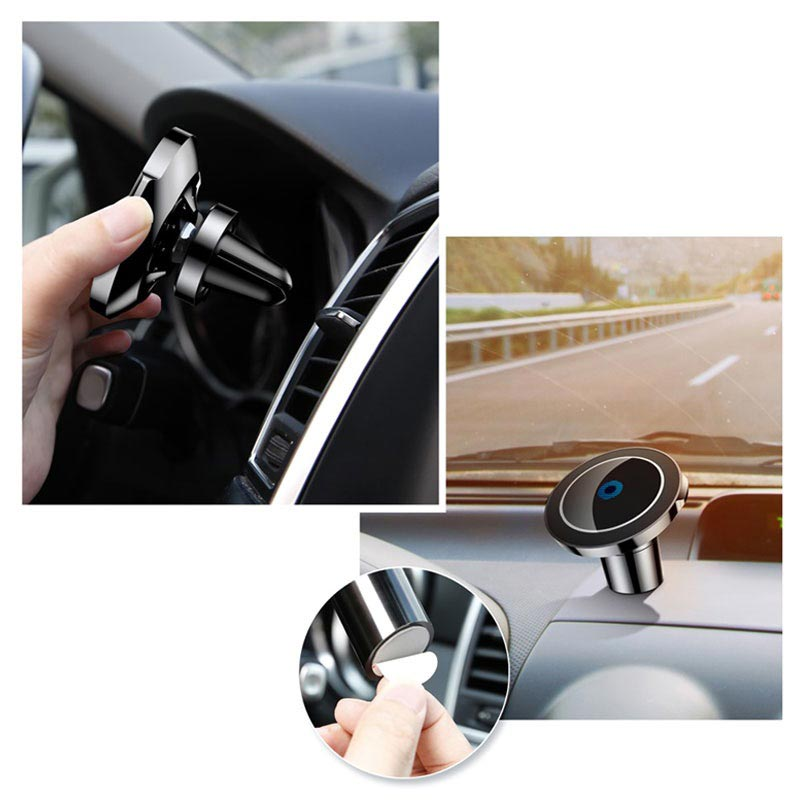 Baseus Big Ears QC2.0 Car Mount Wireless Charger - 10W