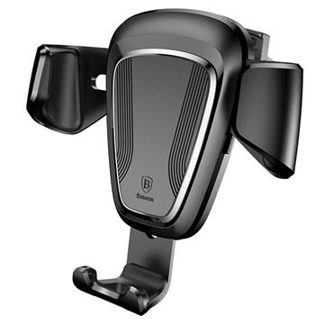 Baseus Gravity Air Vent Car Holder - Black