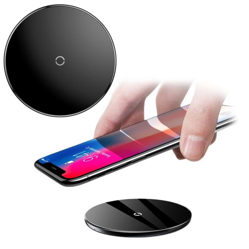 Baseus Simple Ultra-Thin Qi Wireless Charger - 10W