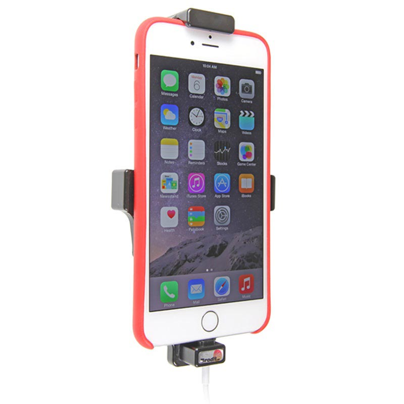 iPhone XS Max/8/7/6S/6 Plus Brodit 514663 Car Holder with Cable Attachment