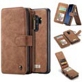 Caseme 2-in-1 Multifunctional Samsung Galaxy S9+ Wallet Case - Brown