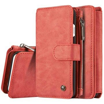 iPhone 7 / iPhone 8 Caseme 2-in-1 Wallet Case - Red