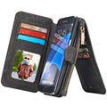 Samsung Galaxy S7 Edge Caseme Multifunctional Wallet Case - Black