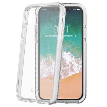iPhone X / iPhone XS Celly Hexagon2 Hybrid Case