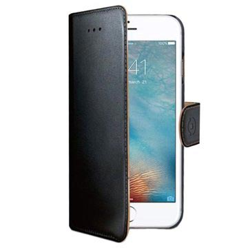 iPhone 7 / iPhone 8 Celly Wally Wallet Case - Black