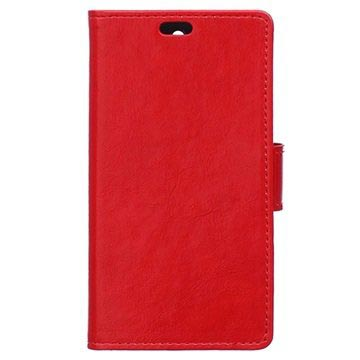 Samsung Galaxy J5 (2016) Classic Wallet Case - Red