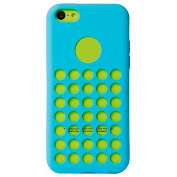 iPhone 5C Code Heat Dissipation TPU Case - Blue