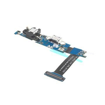 Samsung Galaxy S6 Edge Charging Connector Flex Cable - AV Jack Incl.