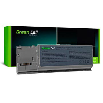 Dell Latitude D620/D630/D631/M2300 Green Cell Battery - 4400mAh