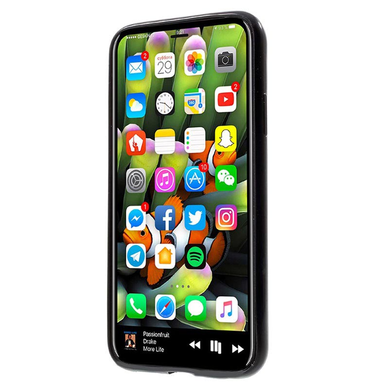iPhone X / iPhone XS Detachable 2-in-1 Wallet Case - Black