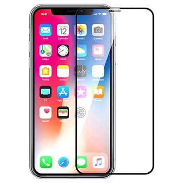 Devia Full Coverage V2 iPhone X / iPhone XS Tempered Glass Screen Protector - Black