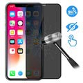 Devia 3D Full Glass Privacy iPhone XS Max Screen Protector - 9H, 0.26mm - Black