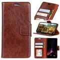 Elegant Series Motorola Moto E5, Moto G6 Play Wallet Case - Brown