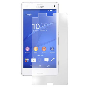 Sony Xperia Z3 Compact Tempered Glass Screen Protector