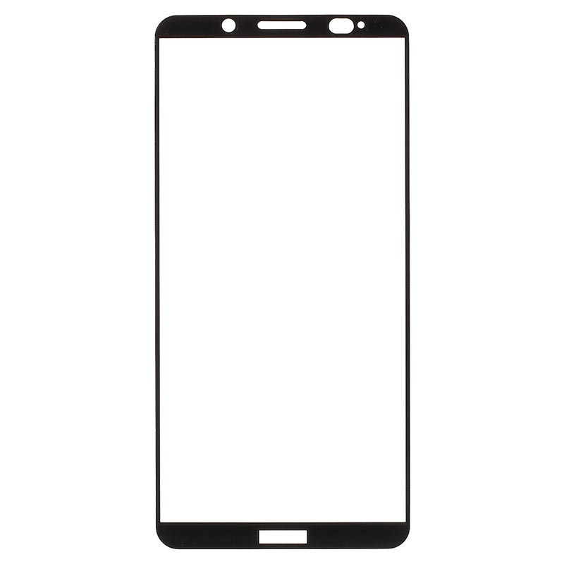 Huawei Mate 10 Pro Full Cover Tempered Glass Screen Protector - Black