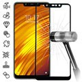 Xiaomi Pocophone F1 Full Cover Tempered Glass Screen Protector - Black