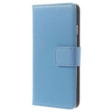 iPhone 6 / 6S Wallet Leather Case - Blue