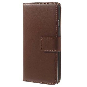 iPhone 6 / 6S Wallet Leather Case - Brown