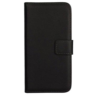 Samsung Galaxy S6 Wallet Leather Case - Black