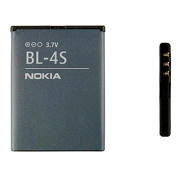 Nokia BL-4S Battery - 3710 fold, 7610 Supernova, X3-02 Touch and Type